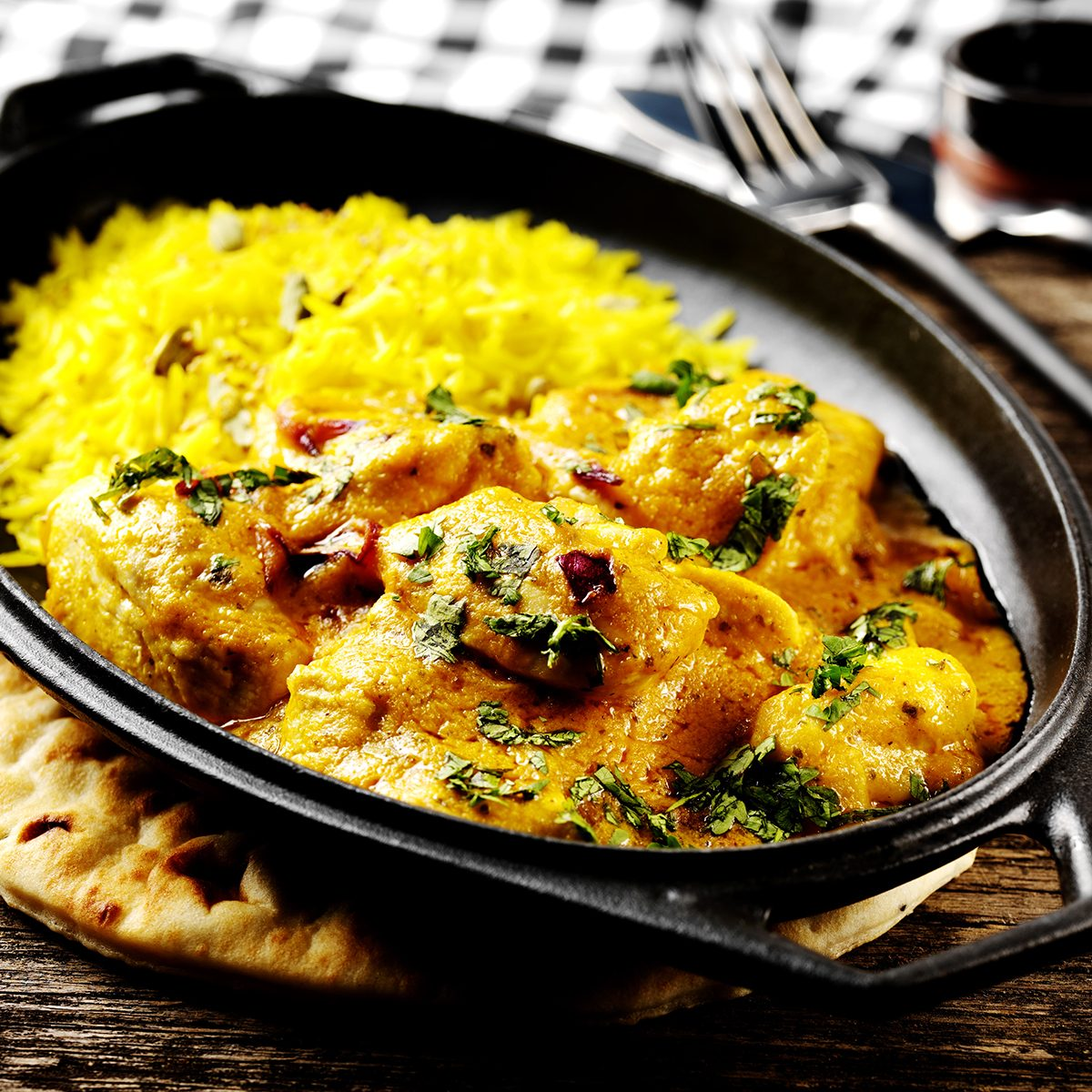 indian main dishes Chicken Curry With Rice