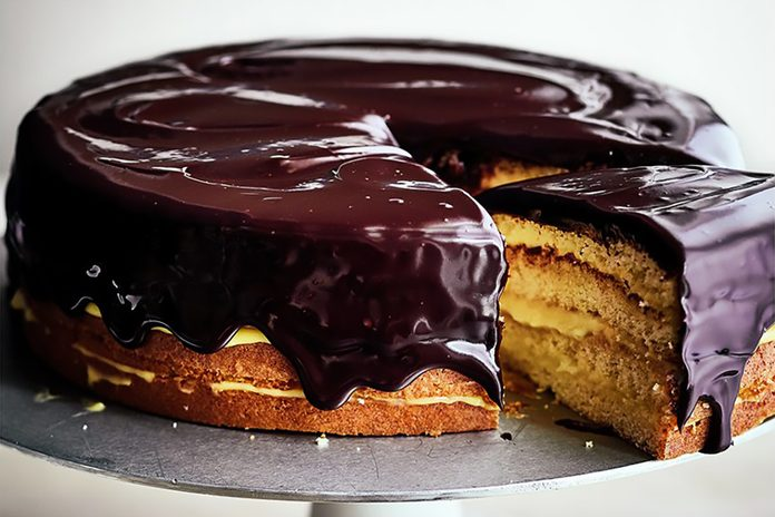 Ina Garten Boston Cream Pie Cake