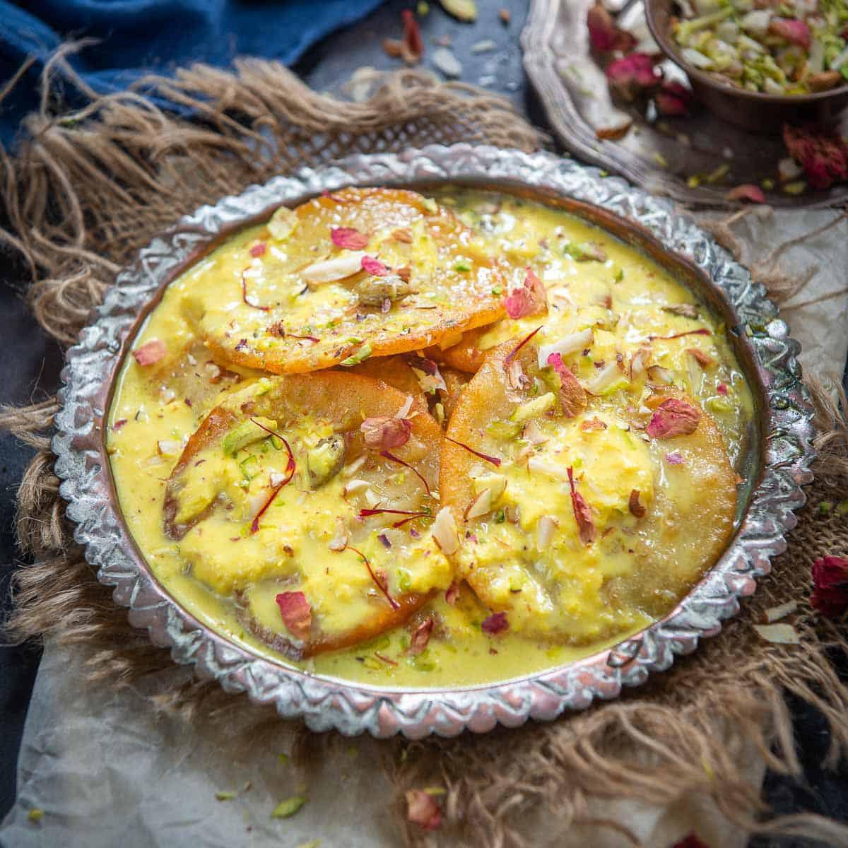 Malupa Indian Dessert