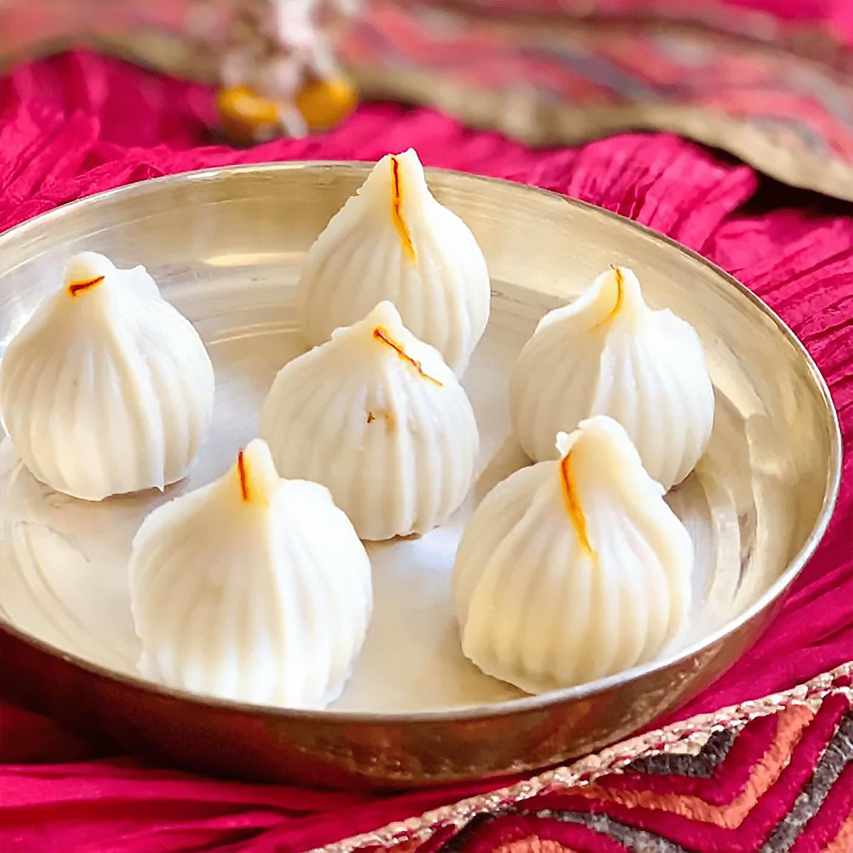 Modak Indian Dessert