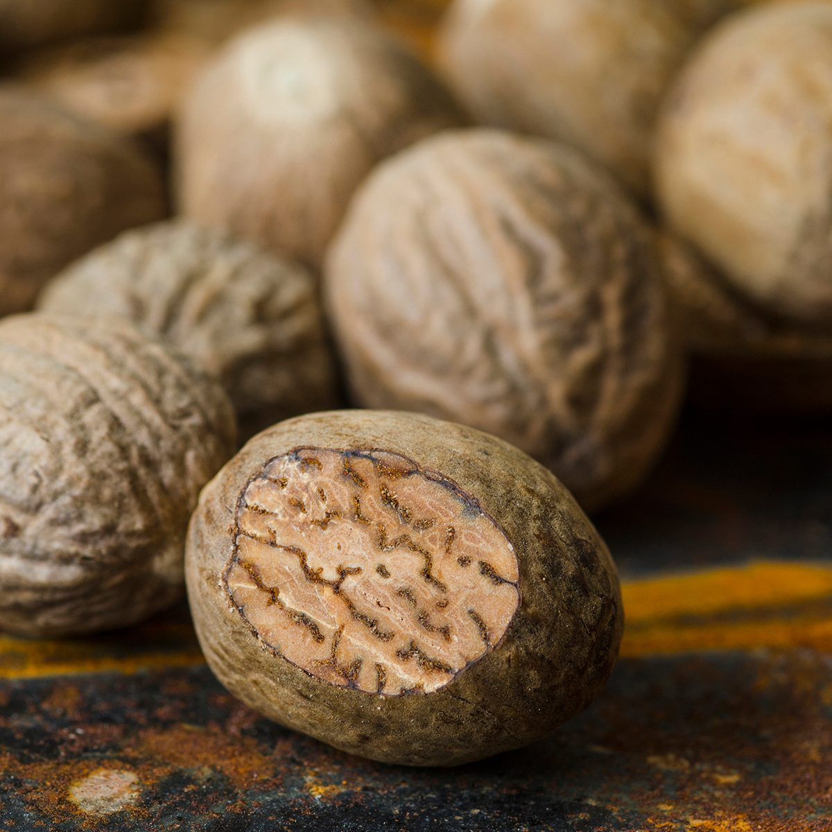 Nutmegs indian spices