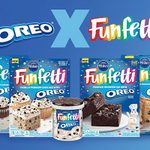 Pillsbury Just Dropped a Whole Lineup of Funfetti + Oreo Baking Mixes