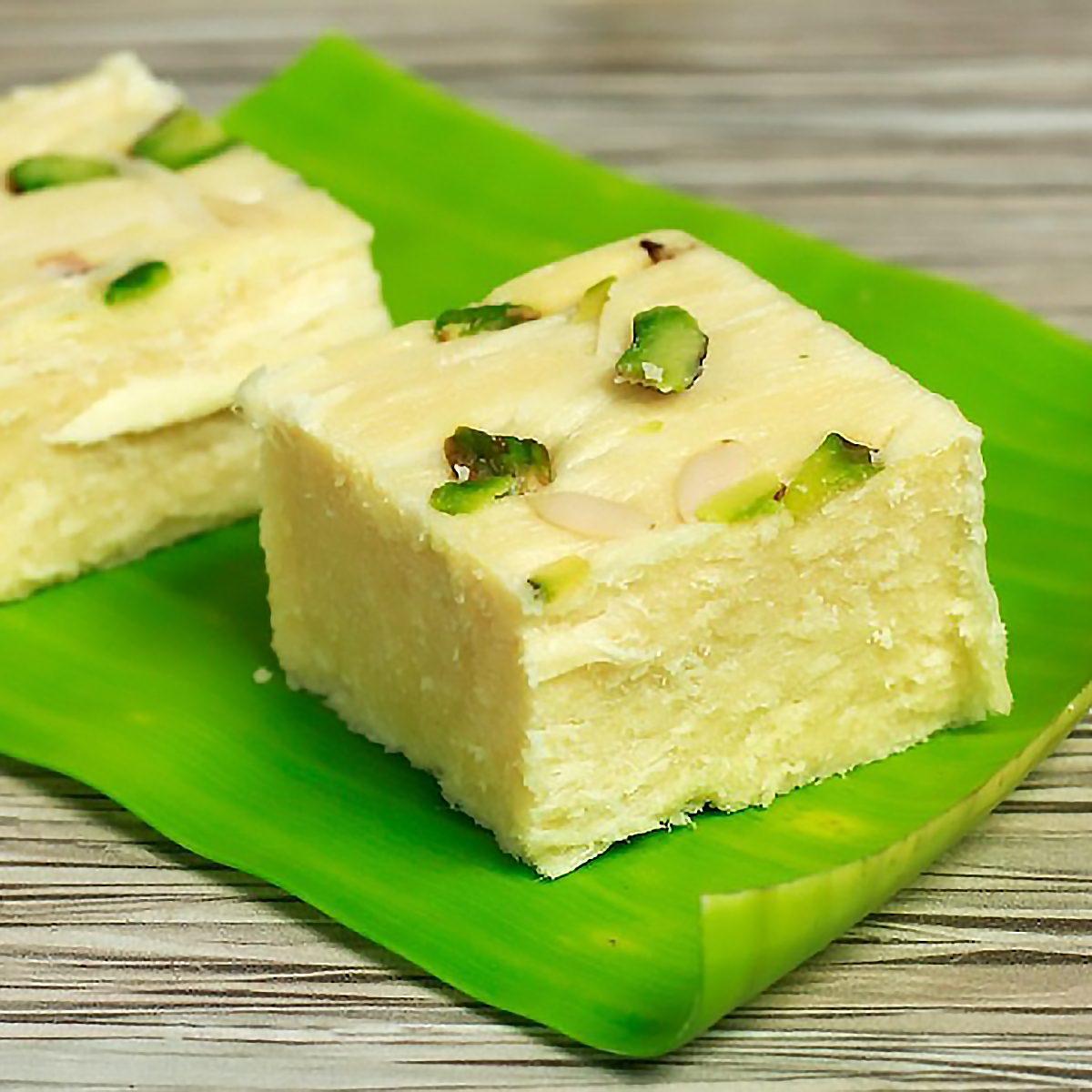 Soan Papdi Indian Dessert