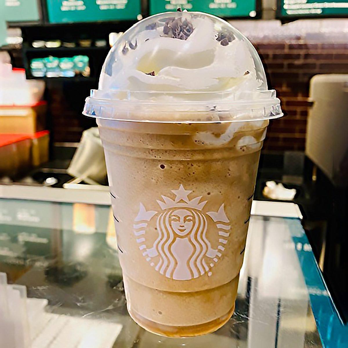 Irish Cream Frappuccino From Starbucks