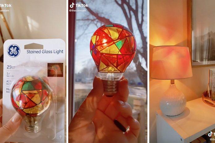 Target Stained Glass Lightbulb