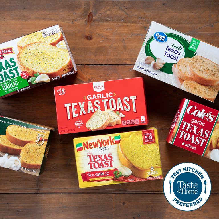 Group Shot Of Texas Toast In Packaging TKP square