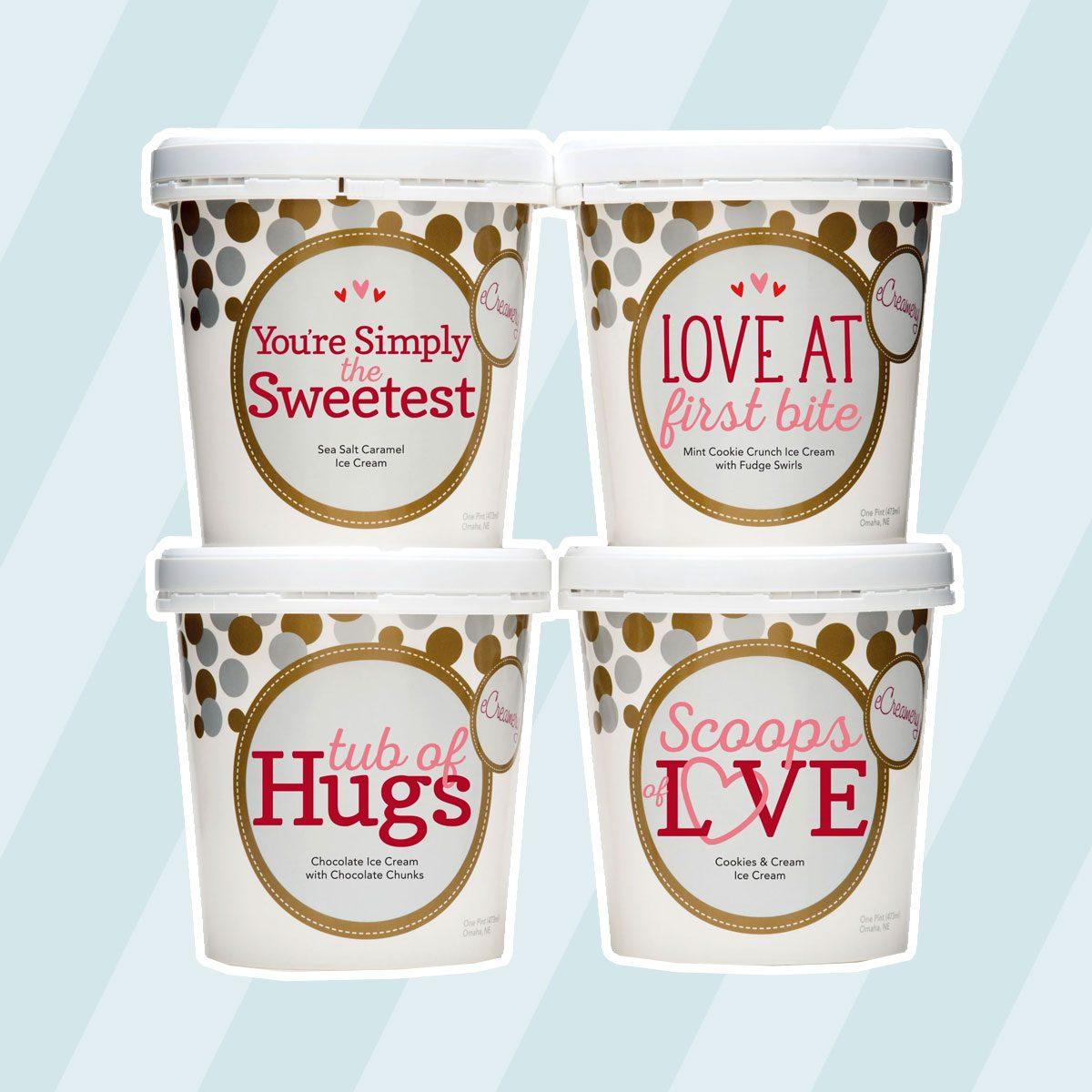 Tubs Of Hugs Ice Cream