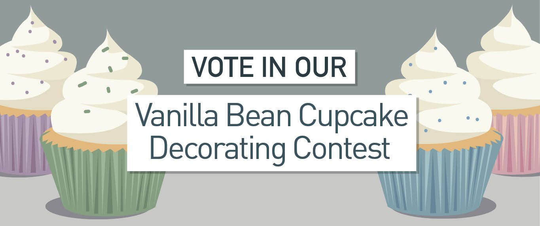 Vanilla Bean Cupcake Challenge Voting