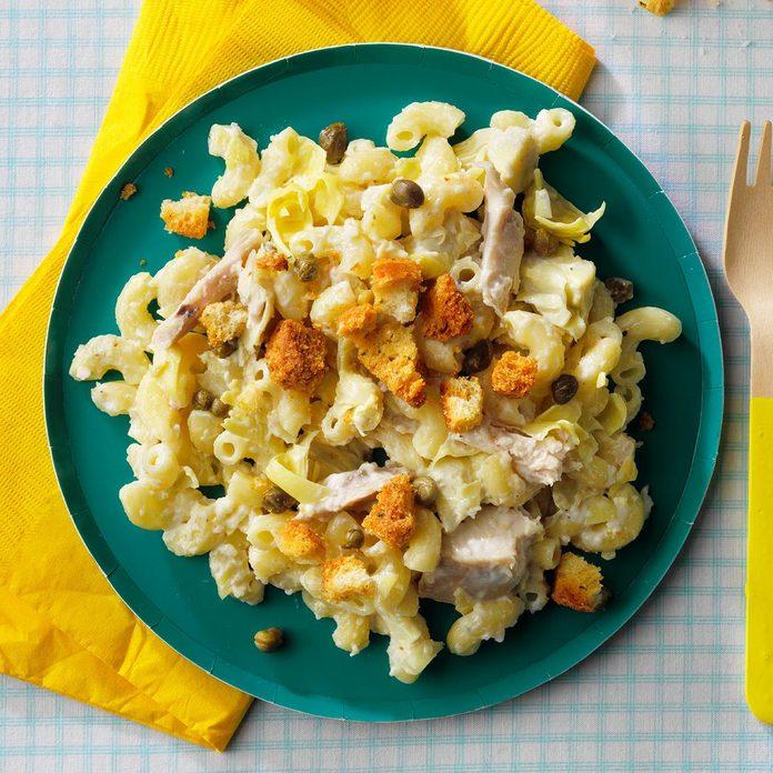 Chicken Caesar Macaroni Salad