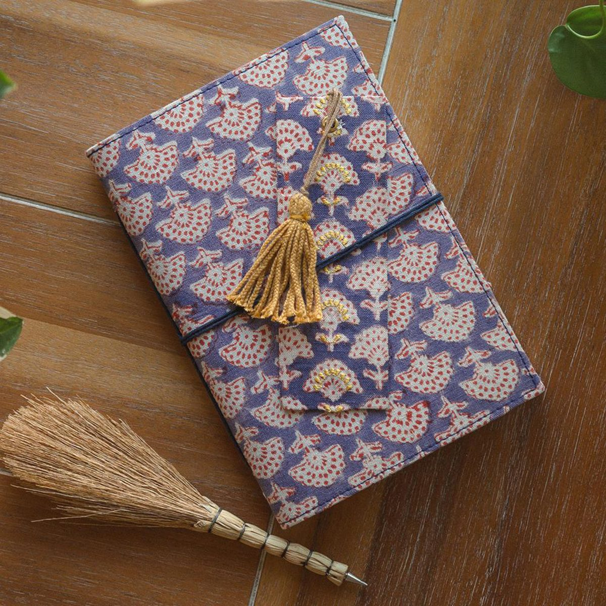 Isla Fabric Wrapped Journal