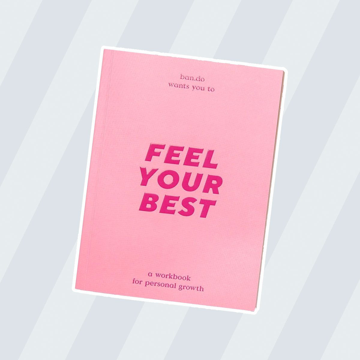 gifts for friends Wellness Workbook Feel Your Best