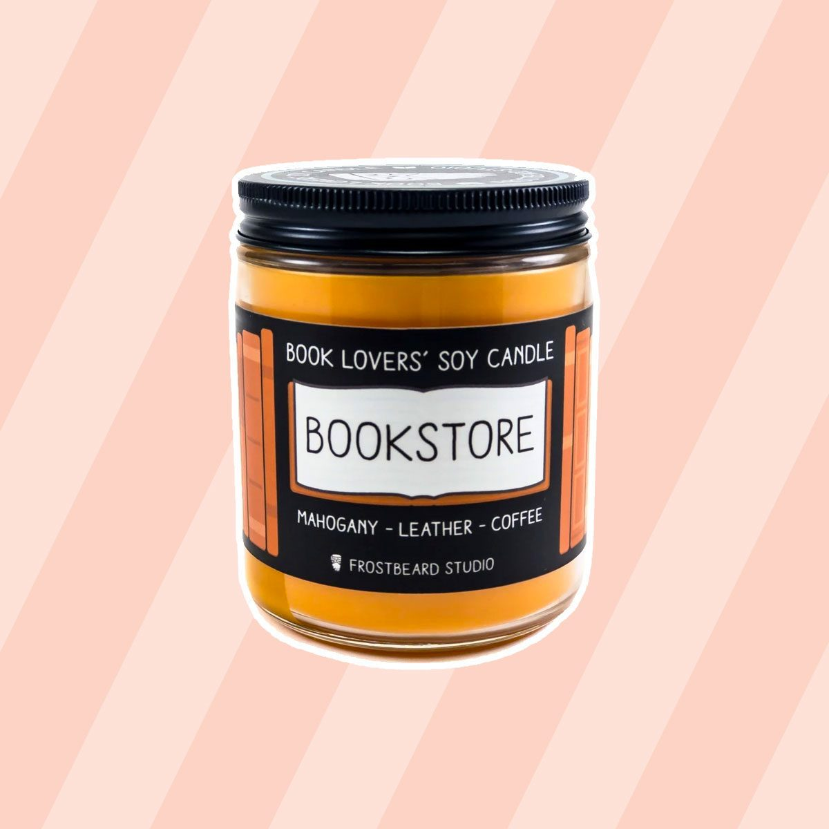 Bookstore Soy Candle