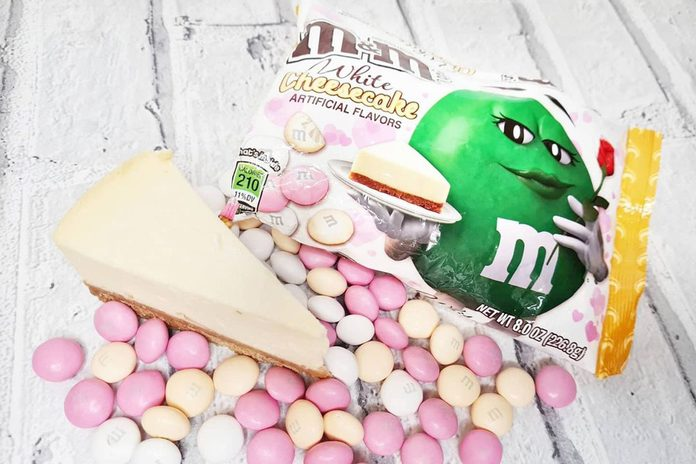 White Cheesecake M&ms