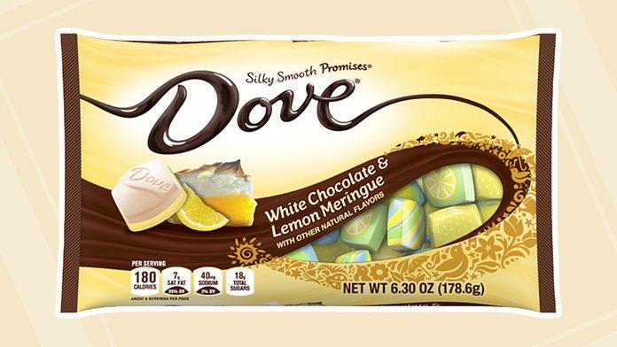 Dove White Chocolate Lemon Meringue, Easter Candy Bag (6.3 Ounces)
