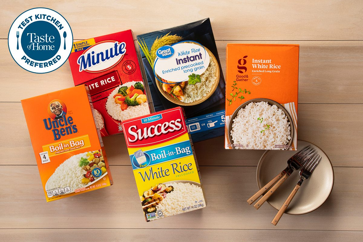 Test Kitchen Preferred the best Instant Rice TKP