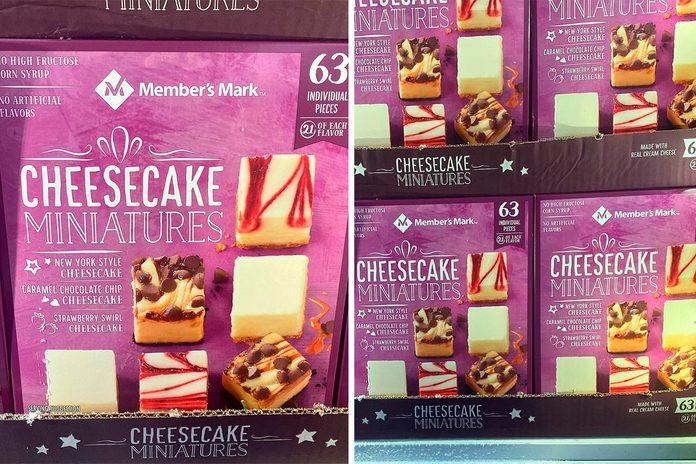Sams Club Cheesecake Miniatures