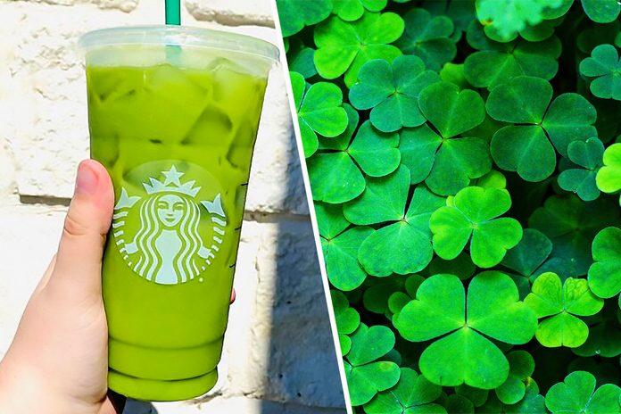 Starbucks Shamrock Tea from the Secret Menu