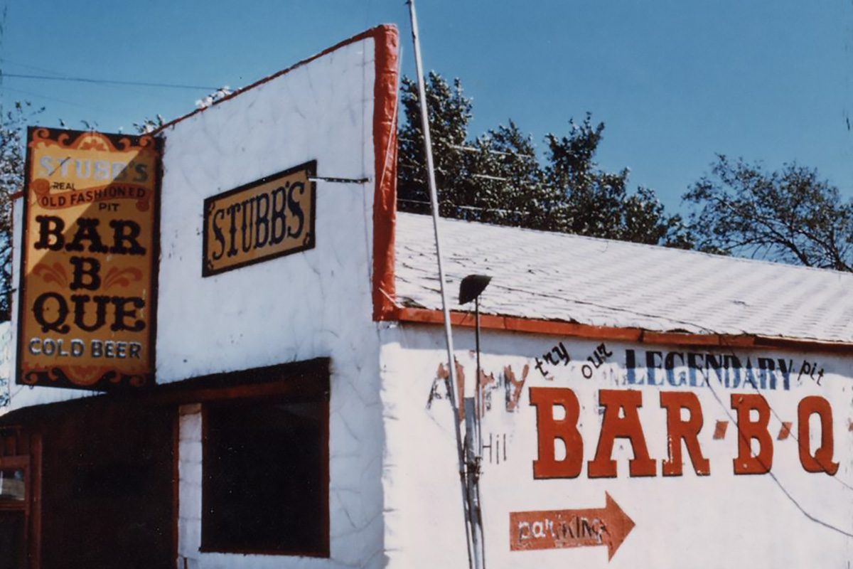 Stubbs Bar B Que Restaraunt