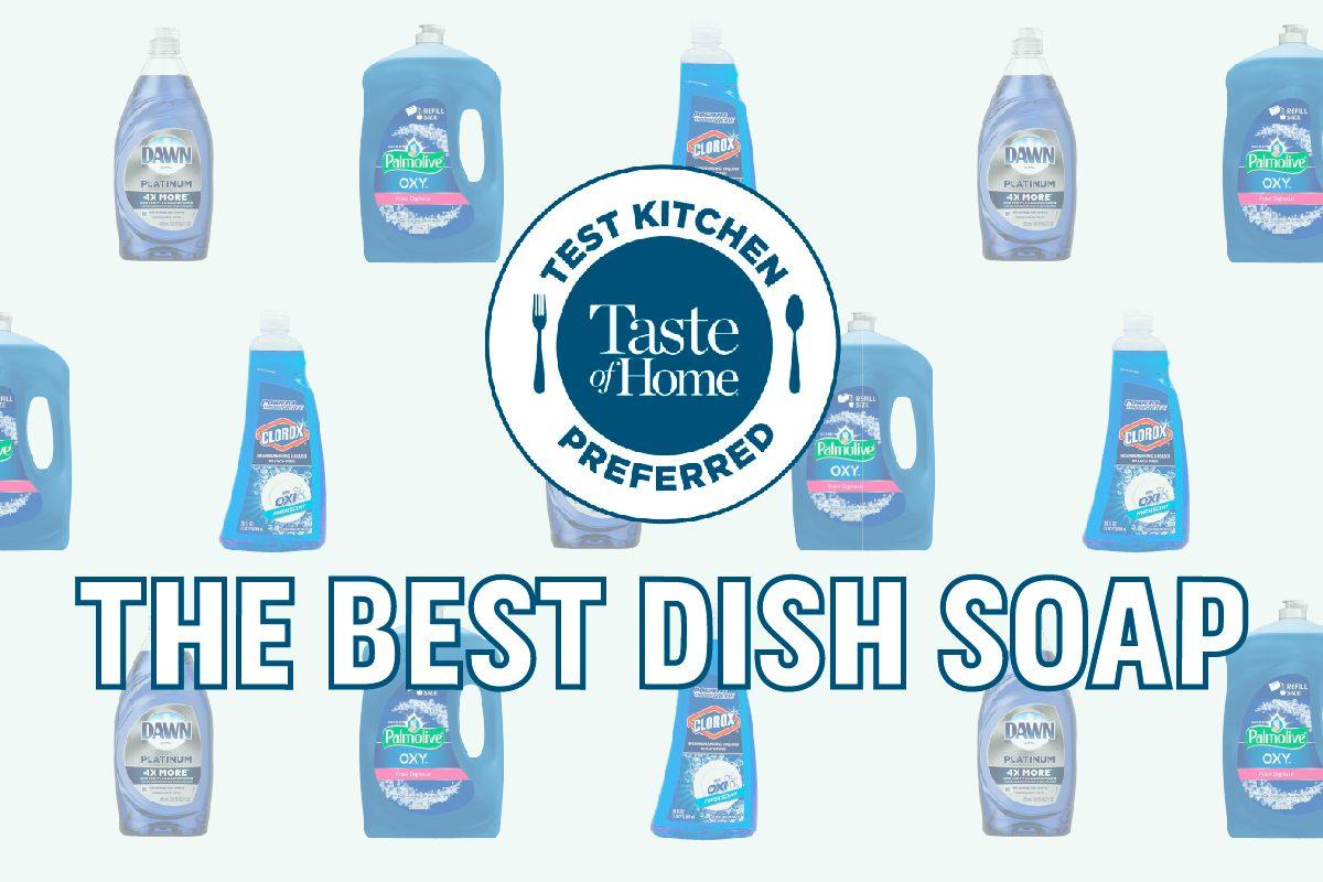 Test Kitchen Preferred The Best Dish Soap crop