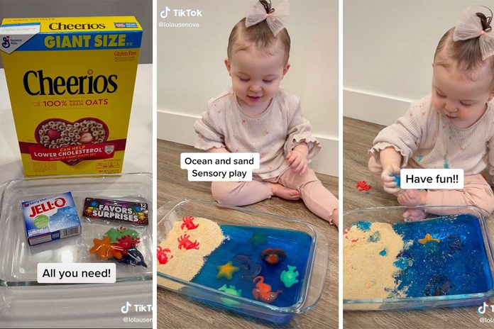 Tiktok Sensory Play Hack