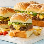 Burger Sliders with Secret Sauce