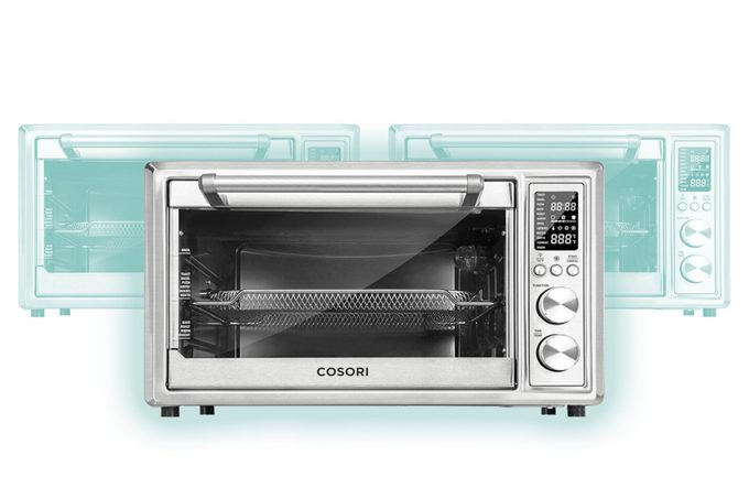 Cosori CO130-AO-RXS 12 in 1 Air Fryer Toaster Oven 30L with Extra Wire Rack