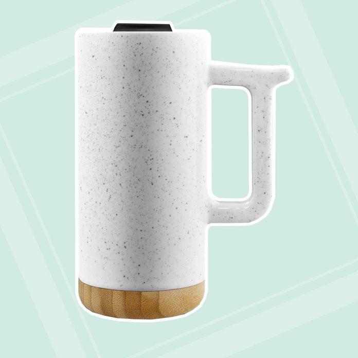new job gifts Ello 16oz Ceramic Aspen Travel Mug