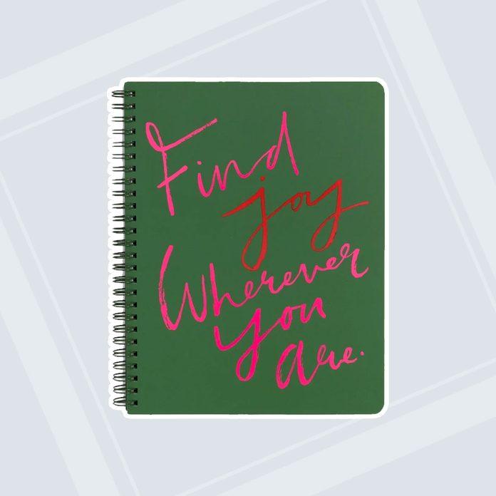 new job gifts Rough Draft Mini Notebook Find Joy