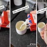 You've Been Pouring Milk from a Carton the Wrong Way—Here's What to Do Instead
