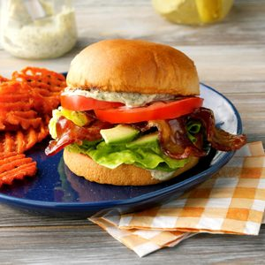 Brown Sugar Bacon BLT Sandwiches
