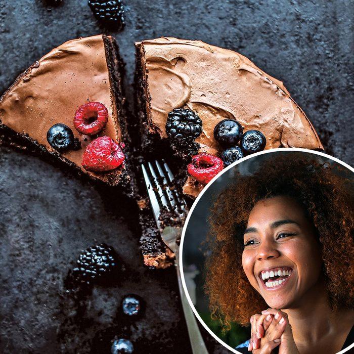 Chocolate Veneer Cake Jerrell Guy Feature