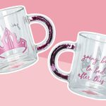 Disney's Latest Line of Glass Mugs Will Make Your Kitchen Look Magical