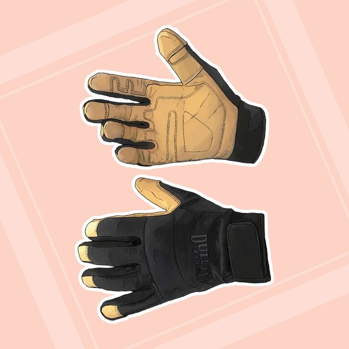 gardening gifts for dad Mens Fence Menders Kevlar Hybrid Gloves