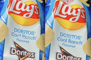 Lay's Just Released a Cool Ranch Doritos Flavor, and It's the Best Mash-Up EVER