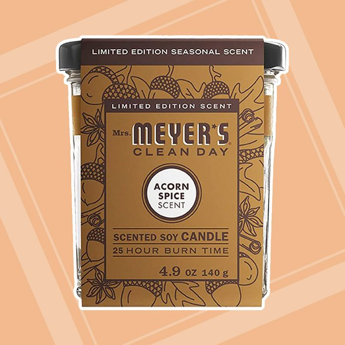 Mrs Meyer's, Candle Acorn Spice, 4.9 Ounce (Pack - 1)