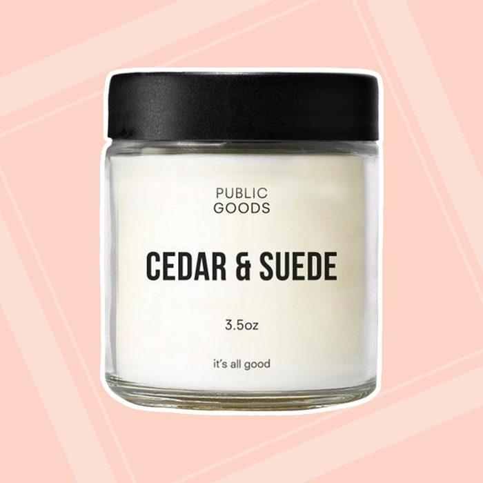 Cedar & Suede Scented Candle