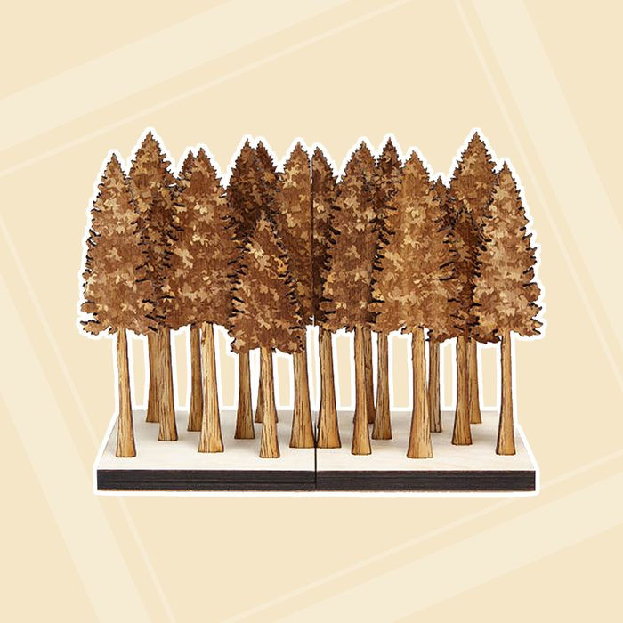 Gold Tree Bookends