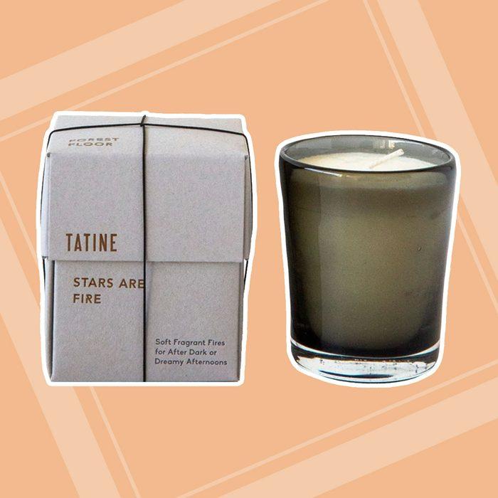 Tatine Stars are Fire - Woodsmoke Candle